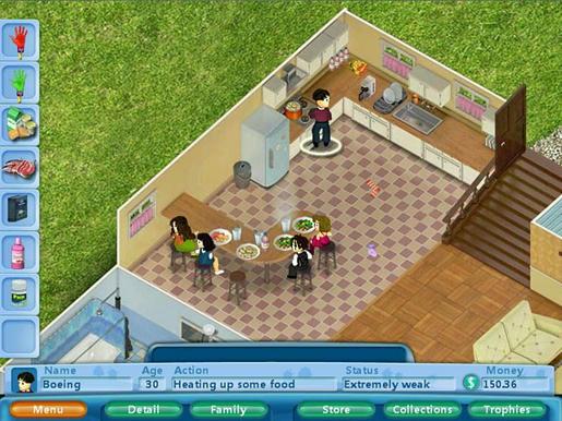 Virtual Families ภาพตัวอย่าง 01