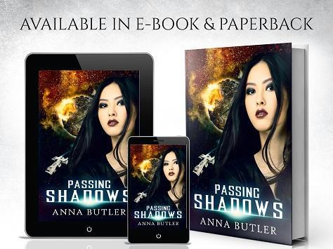 Anna Butler - Passing Shadows Book Banner