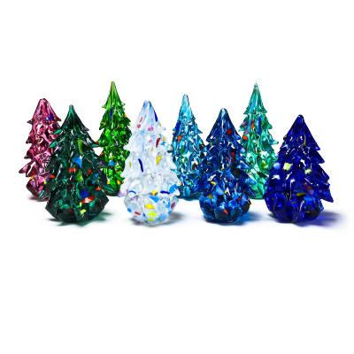 Hand Blown Glass Trees