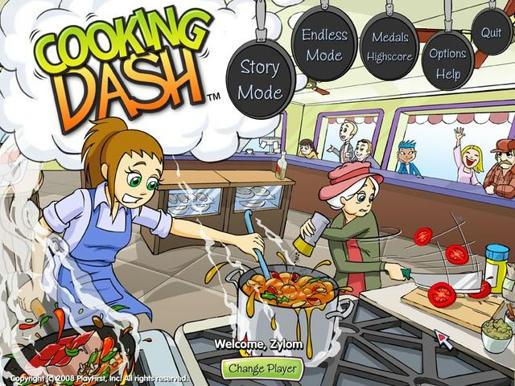 Cooking Dash ภาพตัวอย่าง 01