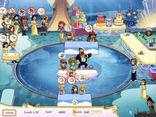 Wedding Dash - Ready, Aim, Love! ภาพตัวอย่าง 02