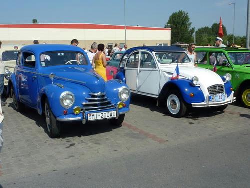 Škoda 1100 Tudor a Citroen 2CV
