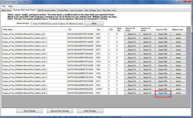[Apprenti] TS4 Mesh Tools : Export et Import de fichier pour la modification de mesh 1xo8pkcdq6paegdzg