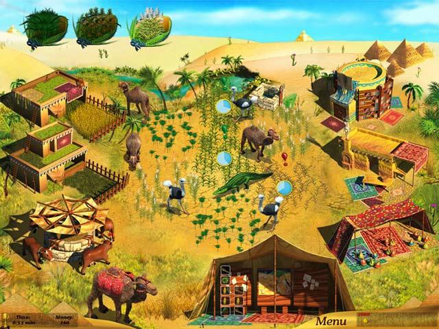 Farm Girl at the Nile ภาพตัวอย่าง 02