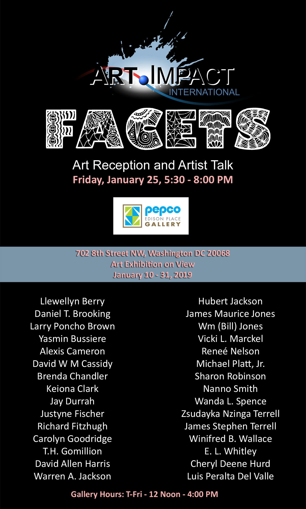 Facets Invitation