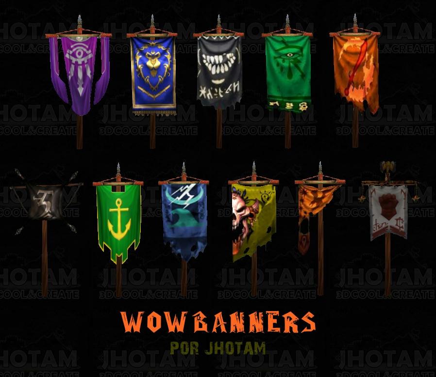 Wow Banners _ Por Jhotam Xjt260k3qwq649azg