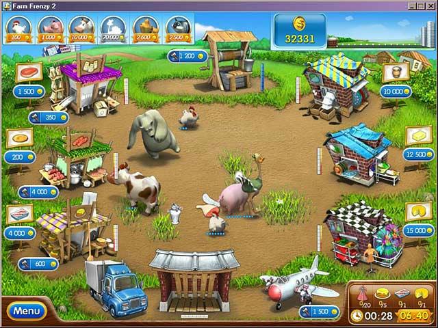 Farm Frenzy 2 ภาพตัวอย่าง 02