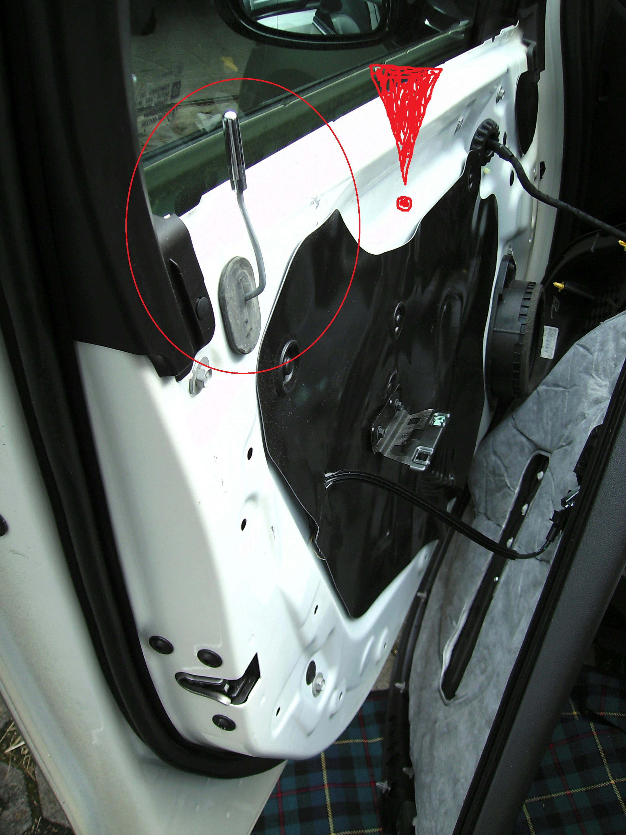 Diy How To Add The Quot Wind Buffeting Quot Mirror Kit Yourself