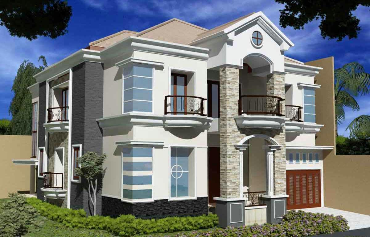 Contoh Rumah Modern Dengan 2 Lantai Creo House