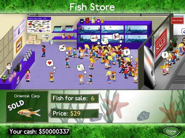 Fish Tycoon ScreenShot02