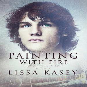 Lissa Kasey - Painting With Fire Square