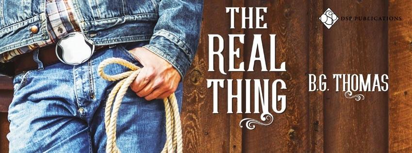 B.G. Thomas - The Real Thing Banner