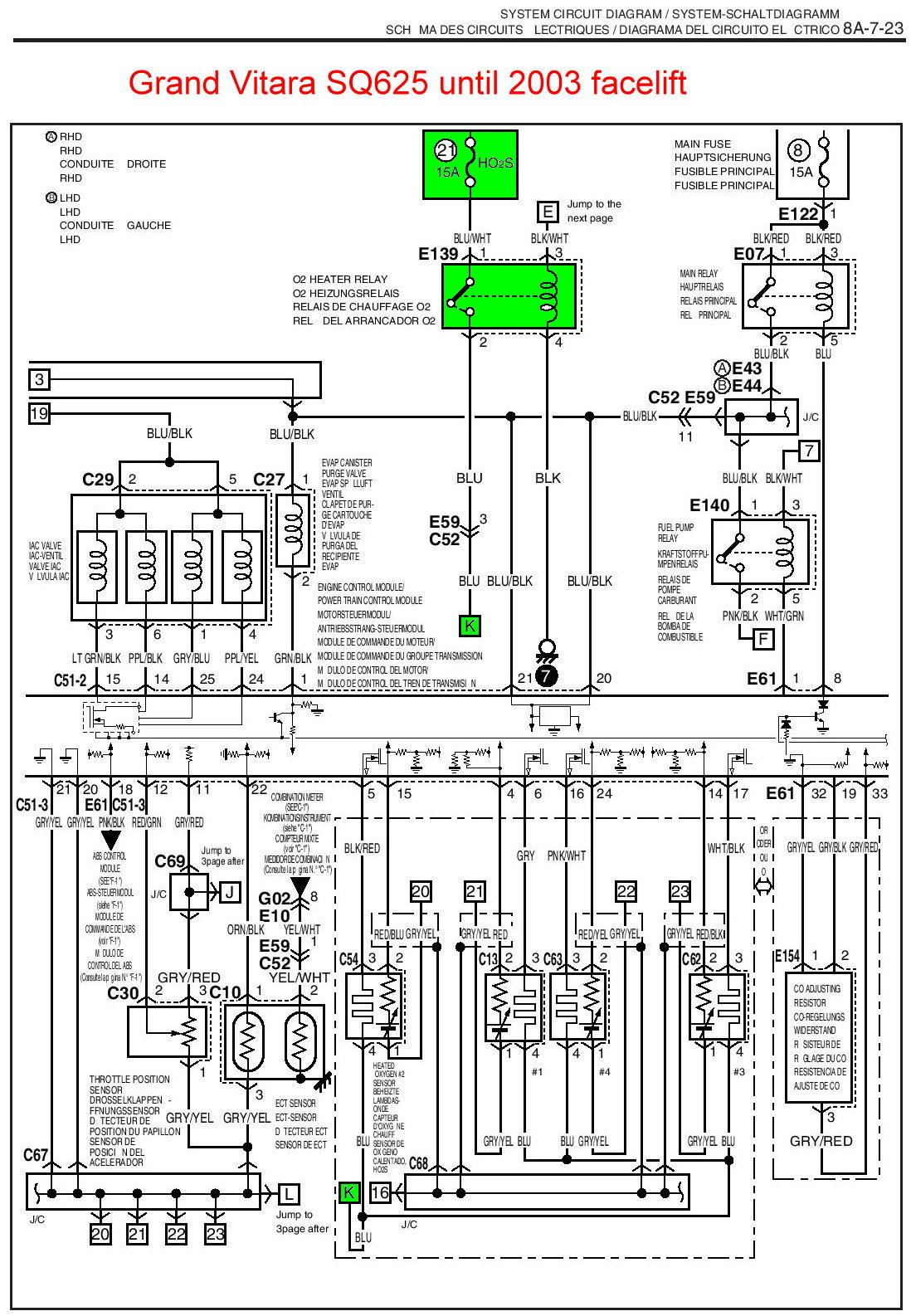 03 chevy tracker ignition fuse wiring diagram   45 wiring
