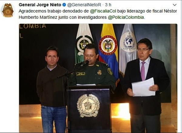 Capturan presuntos implicados en bomba de Centro Andino