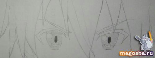 Учим рисовать Kirito из Мастера меча онлайн