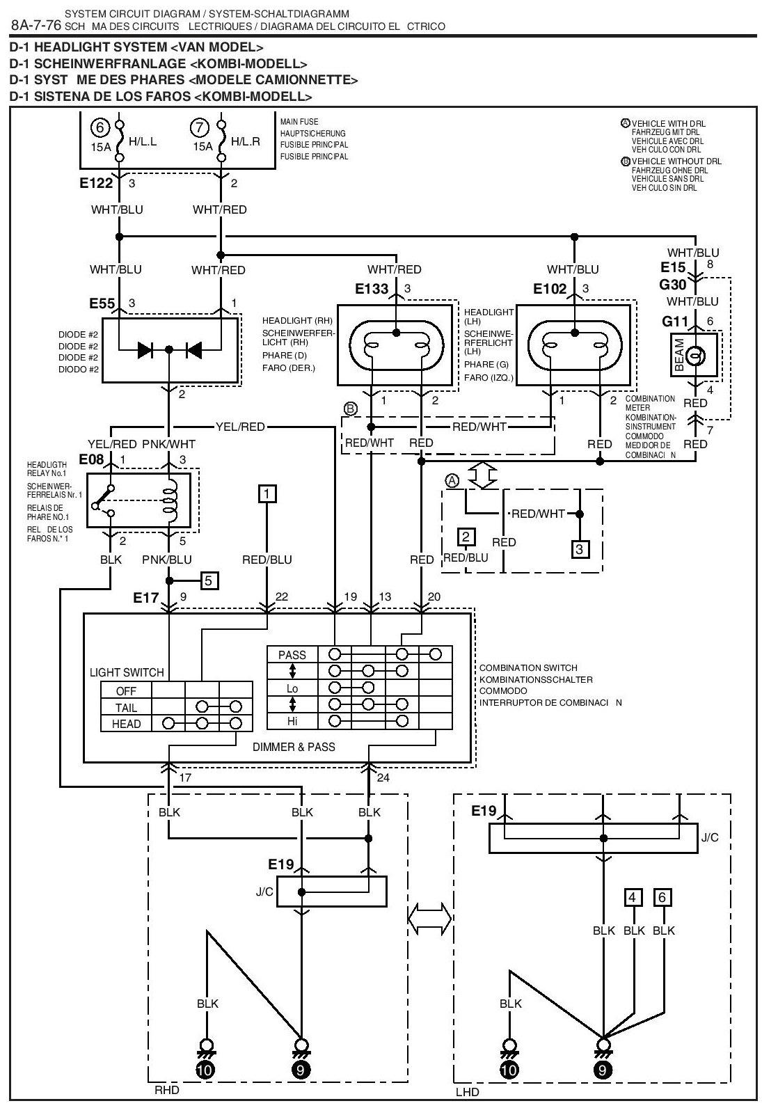 u0026 39 02 vitara headlight wiring oddity