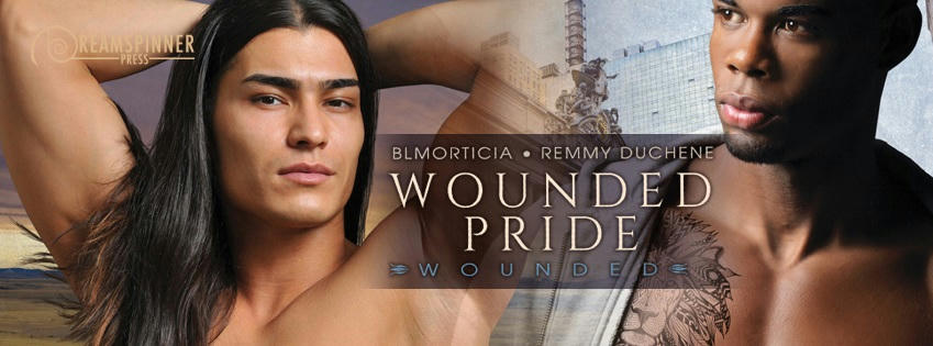 Remmy Duchene & BLMorticia - Wounded Pride Banner