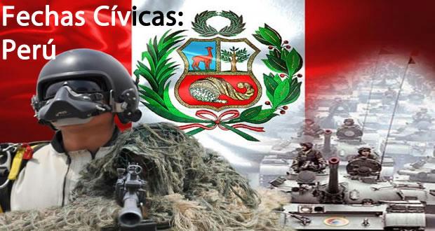 fechas civicas de Perú