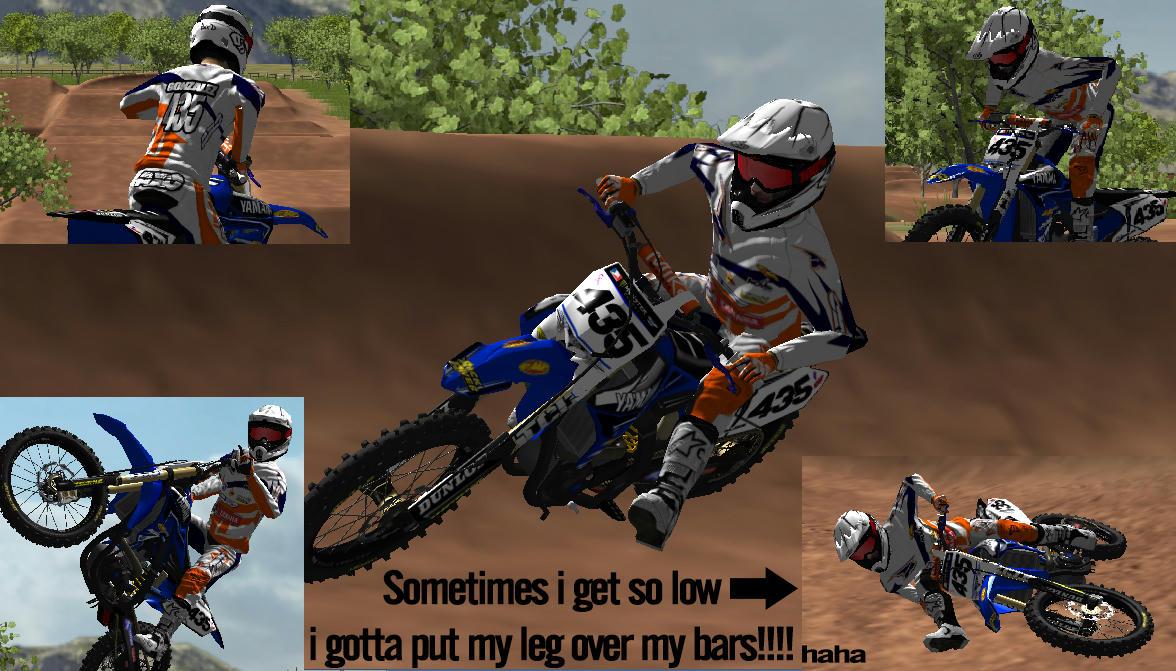 My 2015 Privateer Bike Gear Set Mx Simulator