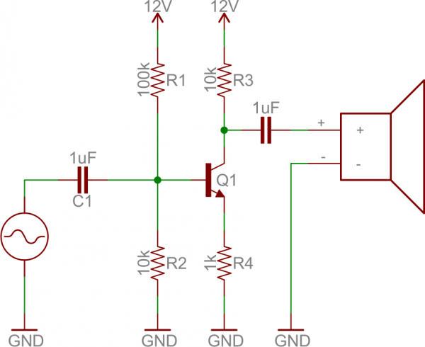 Mạch khuếch đại âm thanh dùng transistor