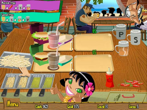 Burger Island ภาพตัวอย่าง 03