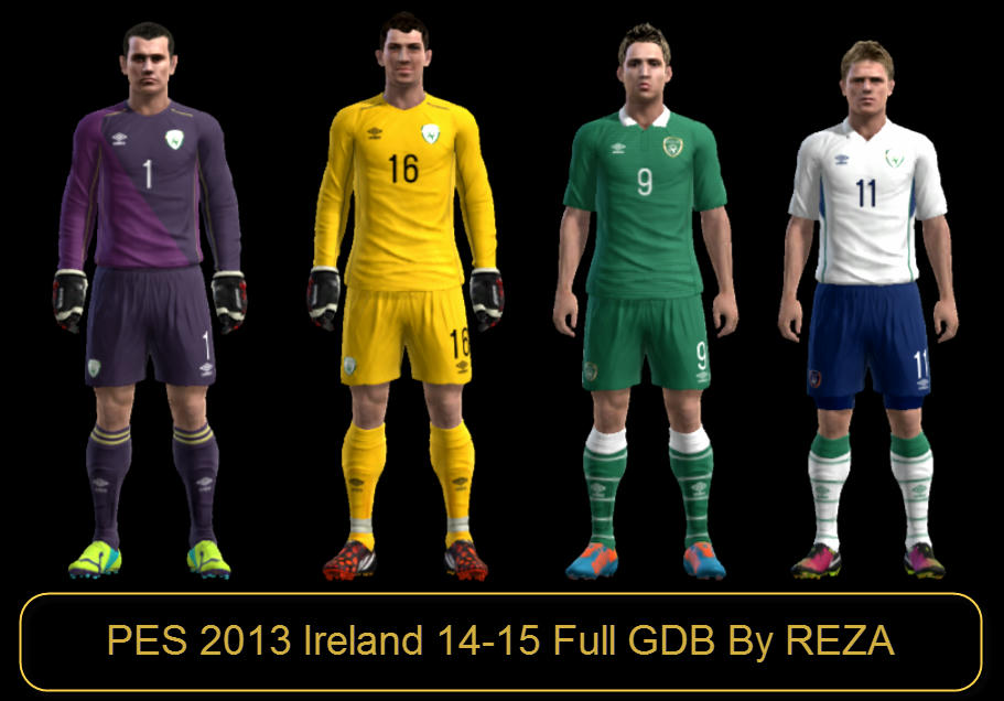 PES 2013 NEW IRELAND 14-15 FULL GDB BY REZA