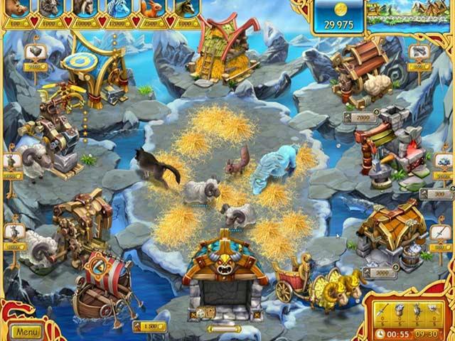 Farm Frenzy - Viking Heroes ภาพตัวอย่าง 03