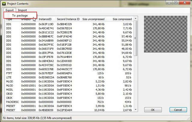 [Débutant] Manipuler TSRW - Convertir un fichier Sims3pack en fichier Package Bp7knskbj5d4ds5zg