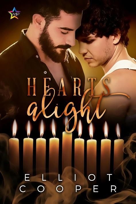 Elliot Cooper - Hearts Alight Cover