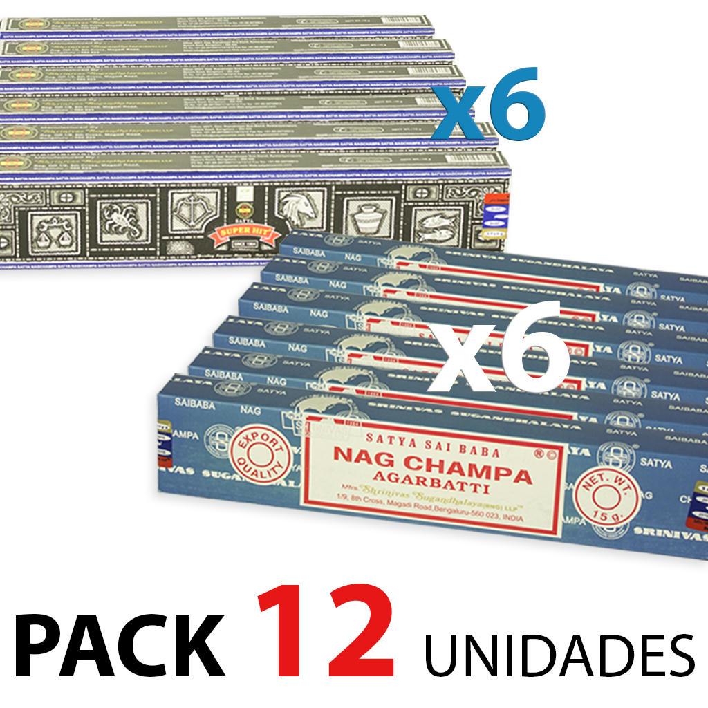 8fkbq12o4q9wz8bzg INCIENSO NAG CHAMPA Y SUPER HIT 15 GRS, PACK 6+6 + MUESTRAS DE REGALO