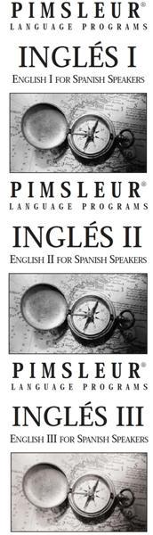Pimsleur, Lecturas Nivel 1, 2 y 3 Inglés
