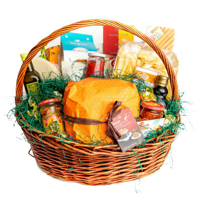 Complete Meal in a Basket