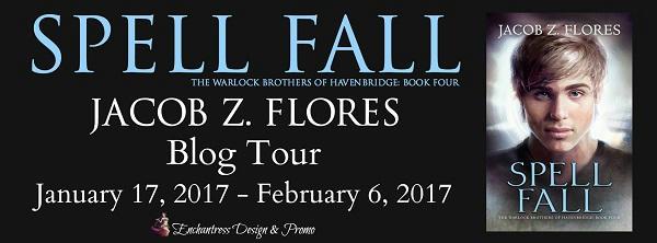 Jacob Z. Flores - Spell Fall BT Banner