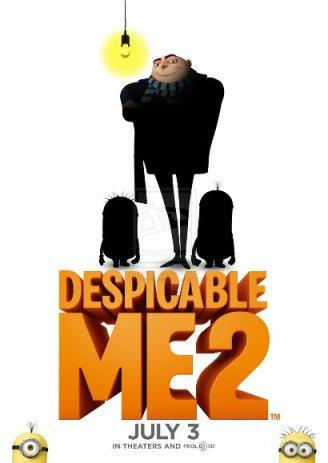 نقد انیمیشن من نفرت انگیز 2 (Despicable Me 2 2013)