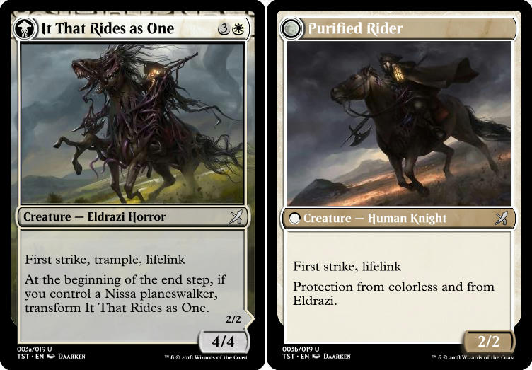 It That Rides as One (Purified Rider)