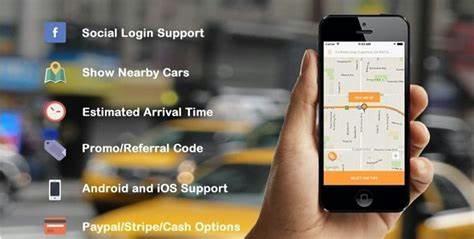 دانلود سورس Taxi application Android solution + Dashboard