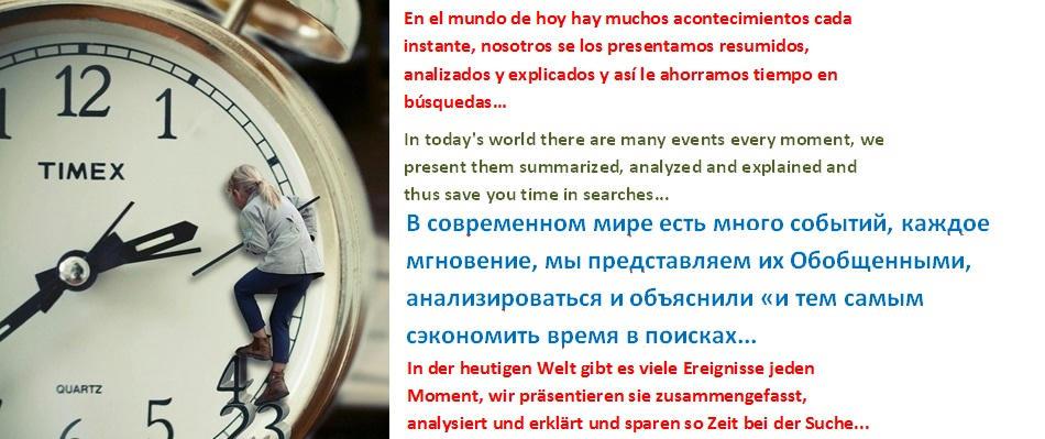 En el mundo de hoy hay muchos acontecimientos cada instante, nosotros se los presentamos resumidos, analizados y explicados y así le ahorramos tiempo en búsquedas…ACCIÓN 13 Noticias
