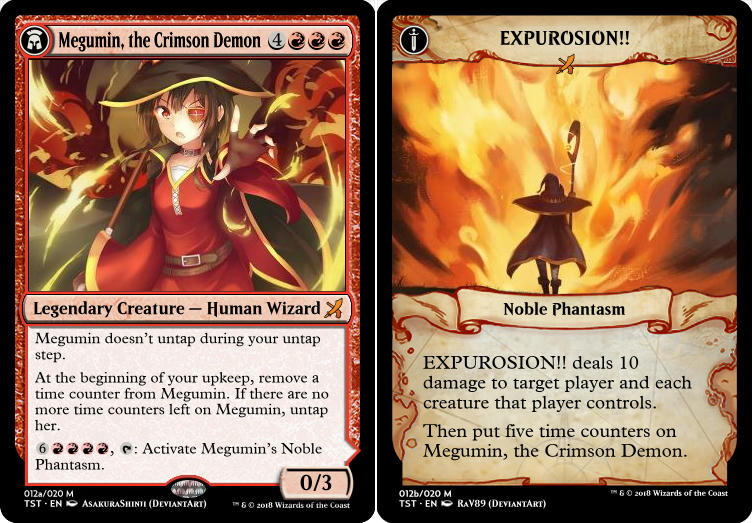 Megumin, the Crimson Demon (EXPUROSION!!)
