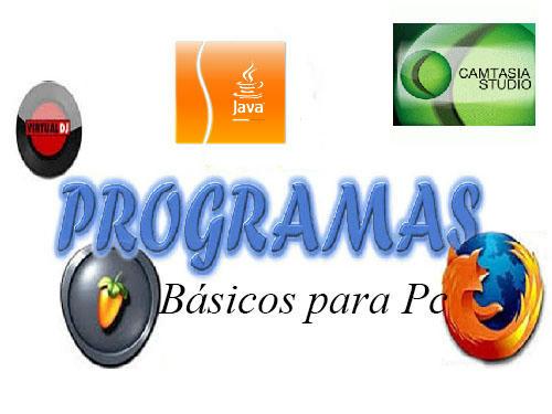 Programas Básicos para Pc