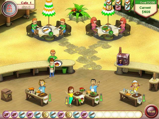 Amelie's Cafe - Summer Time ภาพตัวอย่าง 01