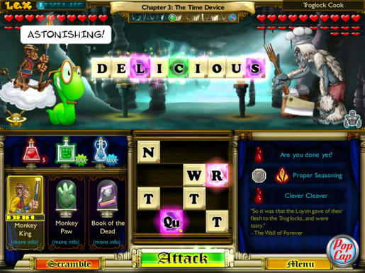 Bookworm Adventures 2 ภาพตัวอย่าง 03