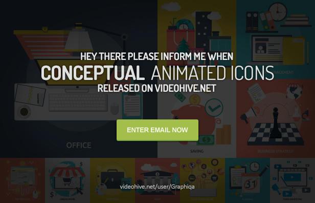 Conceptual Flat Icons