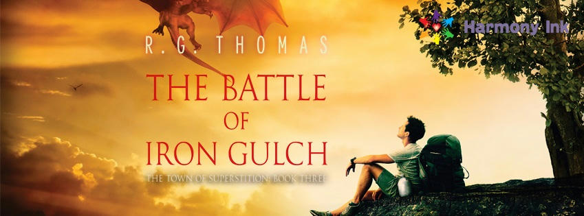 R.G. Thomas - The Battle of Iron Gulch Banner