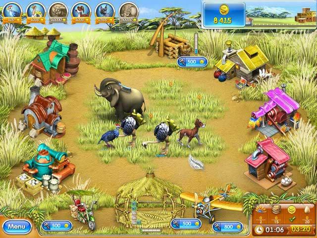 Farm Frenzy 3 - Madagascar ภาพตัวอย่าง 02