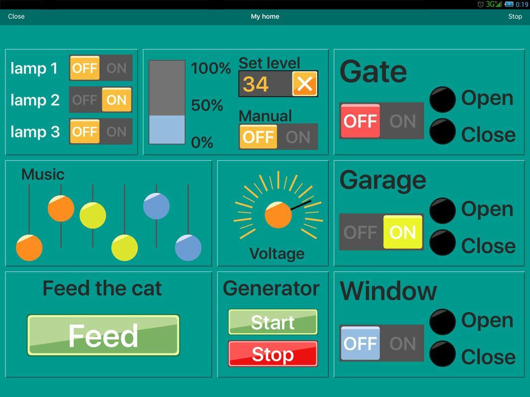 RemoteXY: Arduino Control