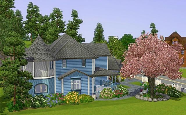 [Débutant] - Du carré à la maison victorienne - La maison bleue 3zeadjr3gd18qr8zg