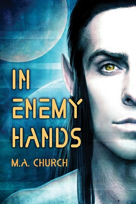 M.A. Church - In Enemy Hands Cover s
