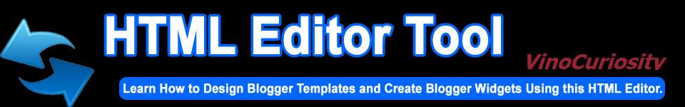 Html Editor Tool