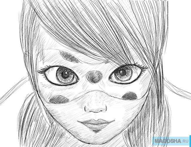 Поэтапные уроки рисования карандашом картинки