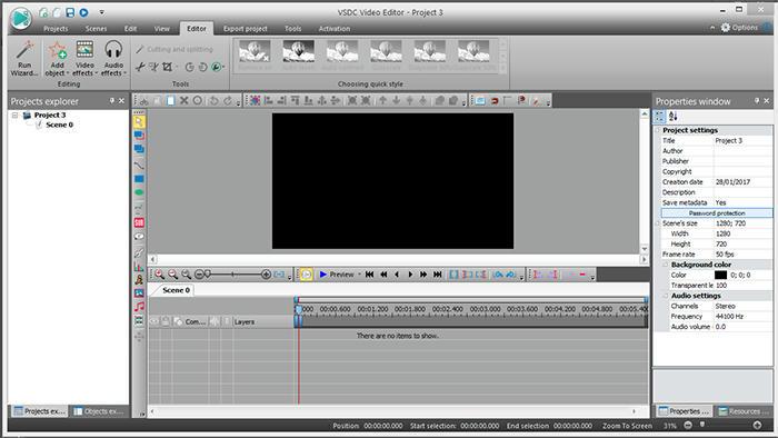 برنامج خفيف جدا لتصوير وتعديل الفديو من الحاسوب video_editor مدرسة جرافيك مان 2017
